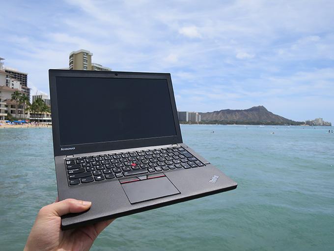 ThinkPad X250は海外に3回。持ち運んで大活躍