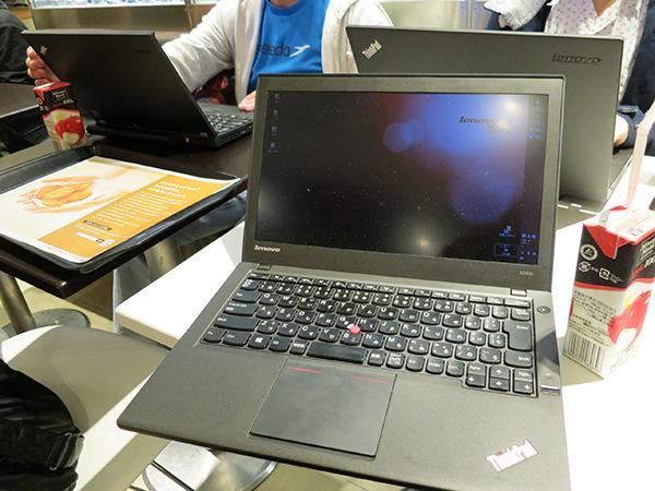 歴代のThinkPadは常に最上にcpuにカスタマイズ