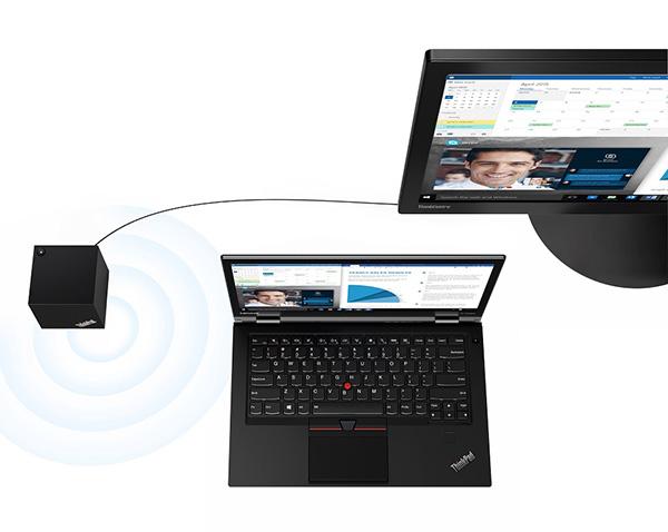 ThinkPad WiGigドックがあればワイヤレスでマルチディスプレイが可能