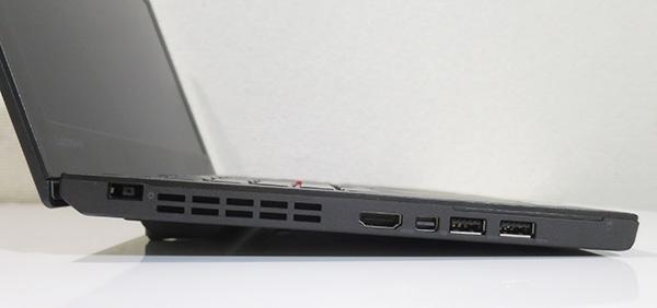 ThinkPad X260にリア6セルバッテリーを取り付けるとキーボードが傾斜する