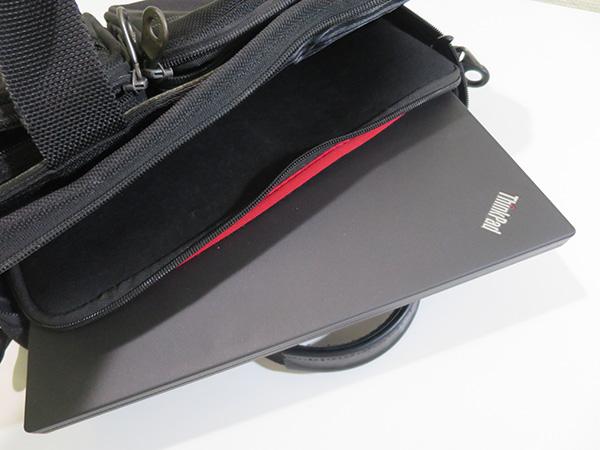 ThinkPad X260 スリーブケースを常にカバンに入れている