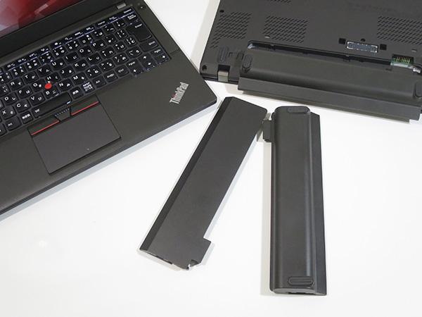 ThinkPad X260 X250 X240 共通な3セル6セルバッテリー
