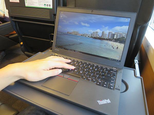 X260 はキーボードが打ちやすい