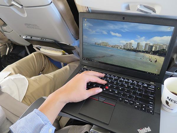 ThinkPad X260 タイピング速度を上げても うるさくならずに静かに打てる