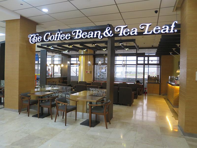 マクタンセブ空港内コーヒービーン